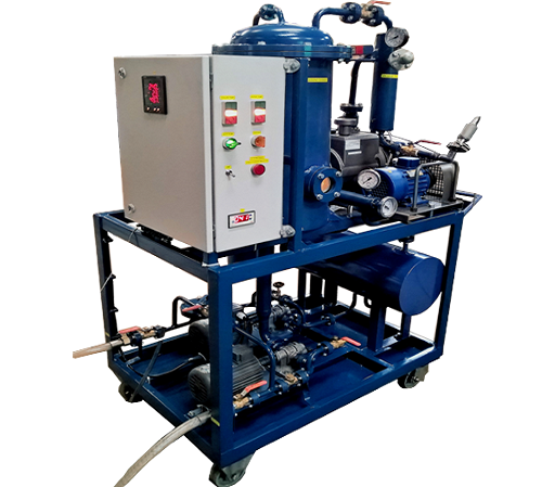 High Vacuum Transformer Oil Filtration and Dehydration Plants